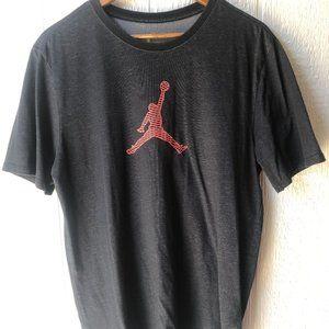 Jordan Mens Jumpman Dark Gray T-Shirt